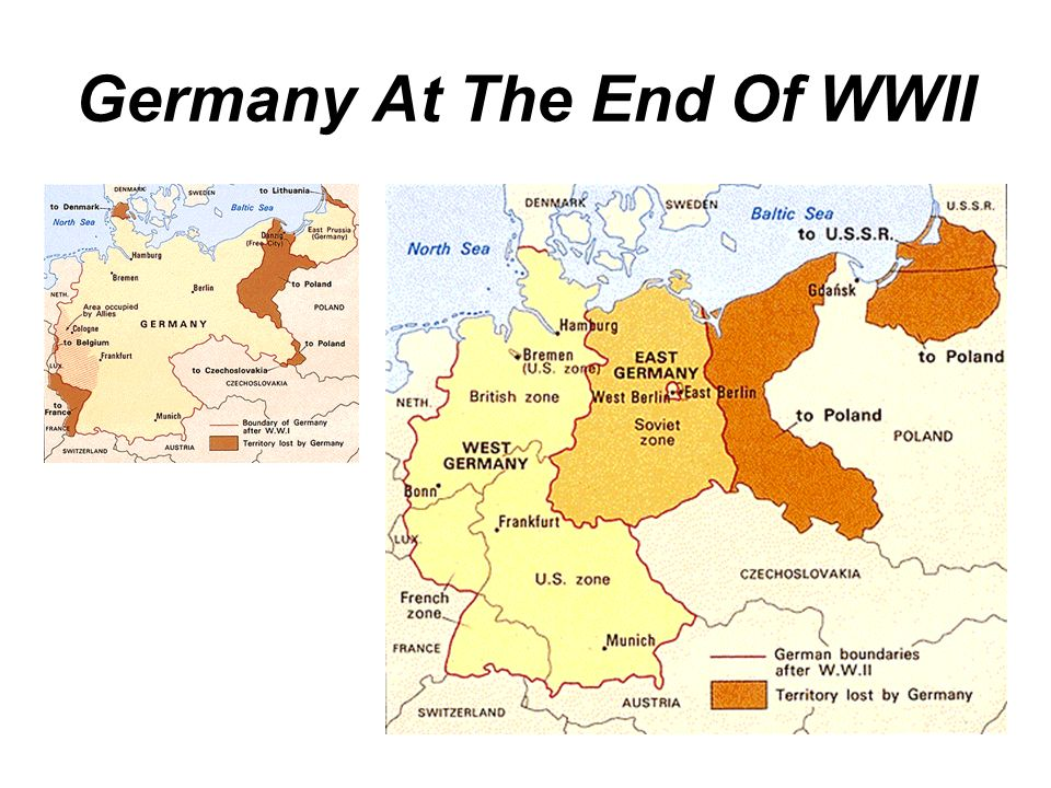 Germany At The End Of WWII