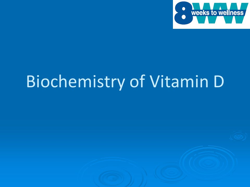 Biochemistry of Vitamin D