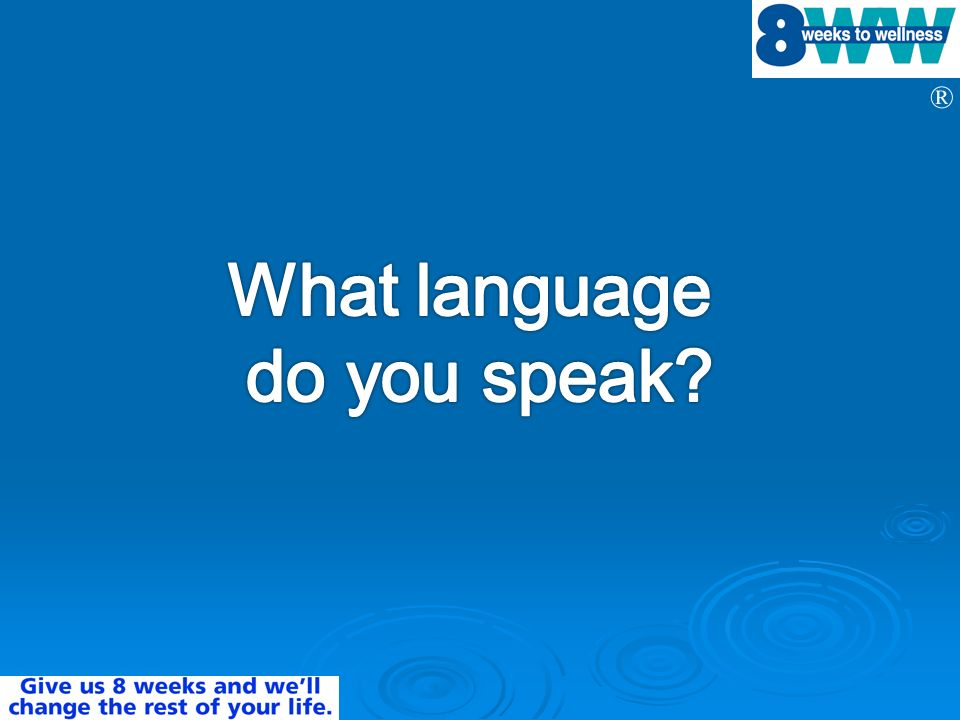What language do you speak