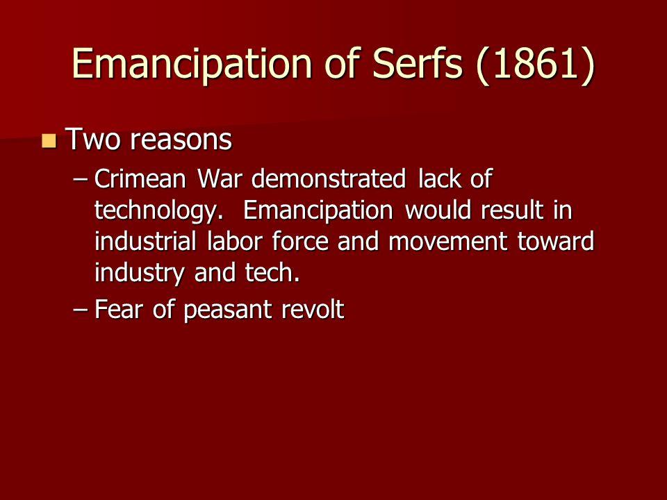 Emancipation of Serfs (1861)