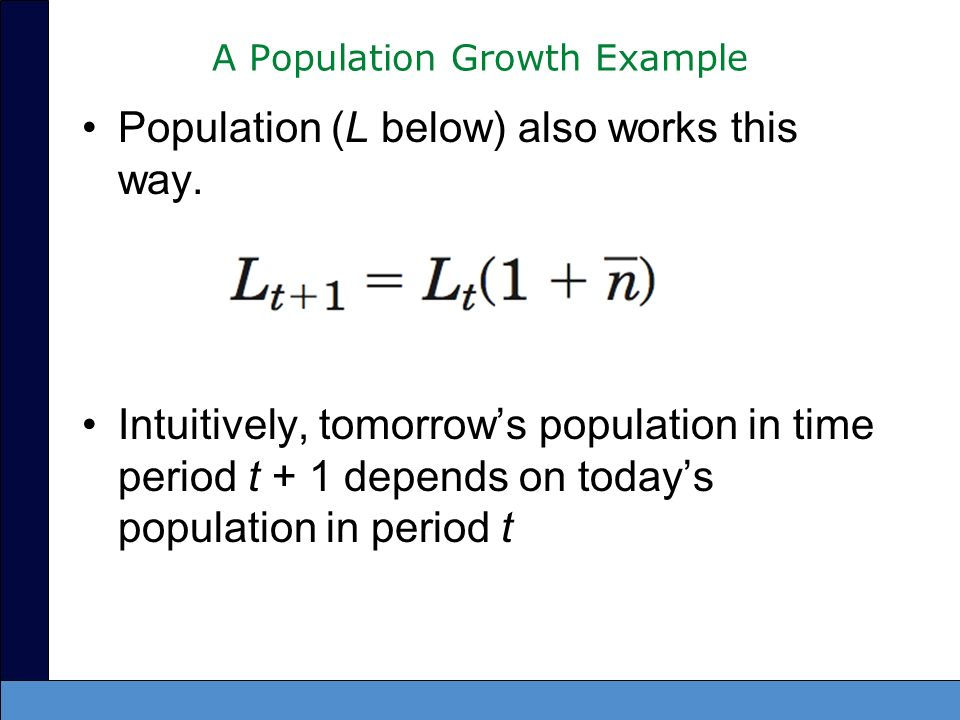 A Population Growth Example