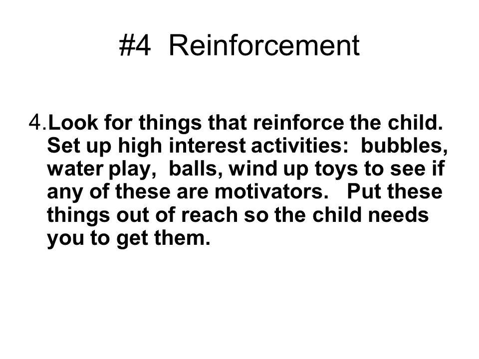 #4 Reinforcement