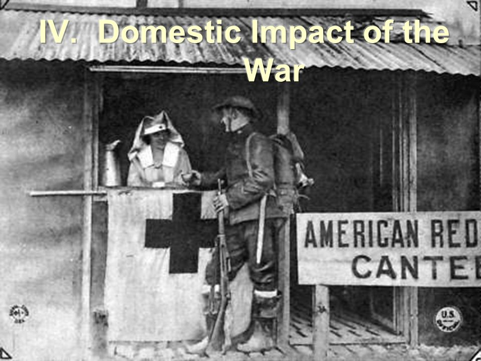 Domestic Impact of the War