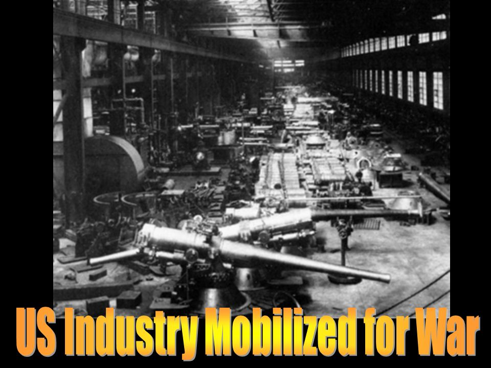 US Industry Mobilized for War