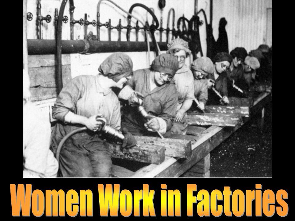 Women Work in Factories