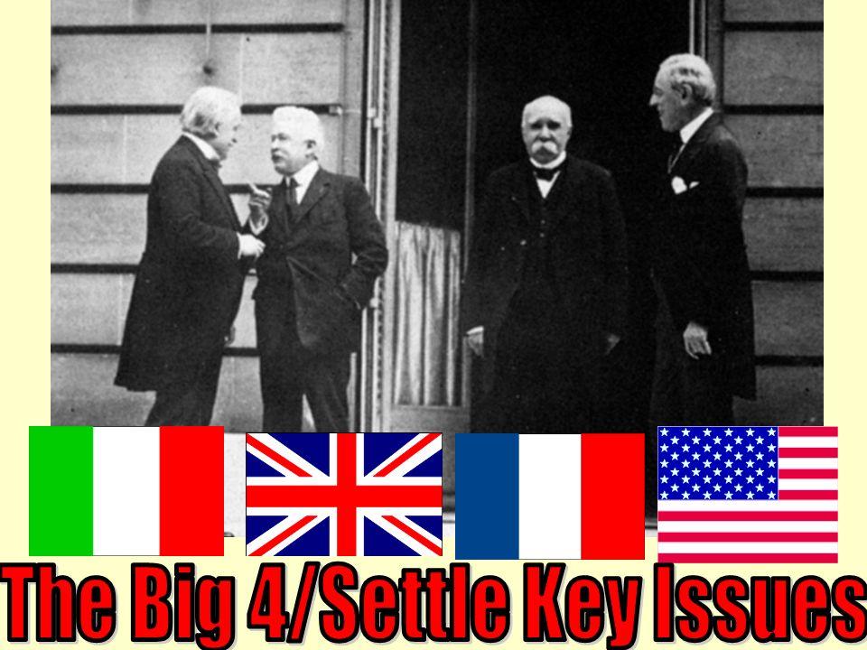 The Big 4/Settle Key Issues