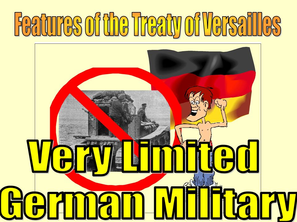 Features of the Treaty of Versailles