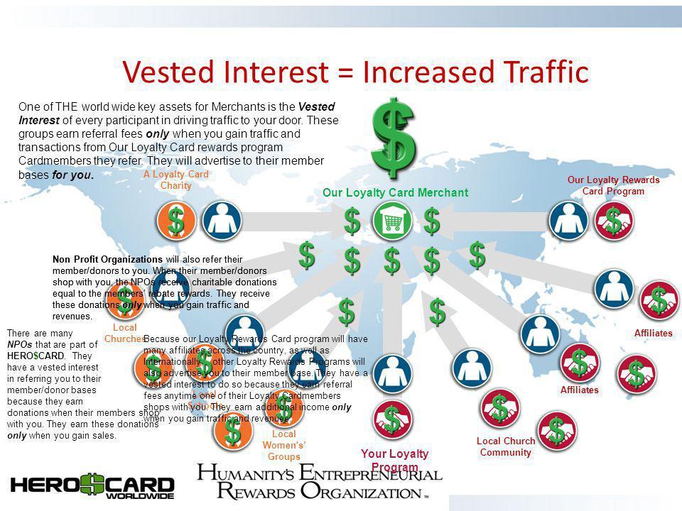 Vested Interest = Increased Traffic