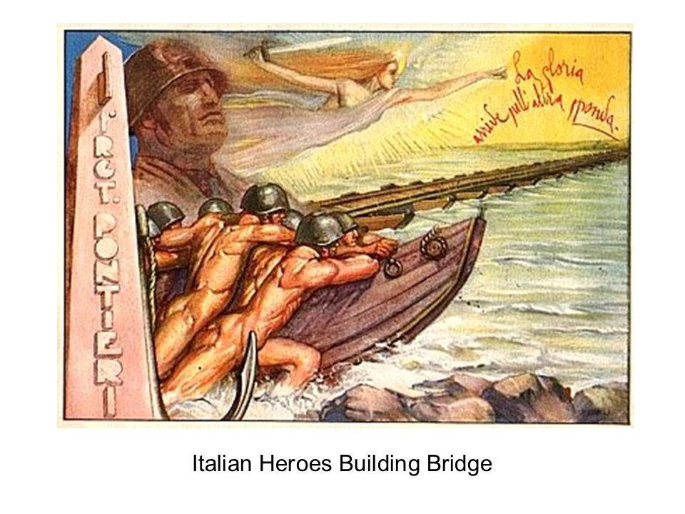 Italian Heroes Building Bridge