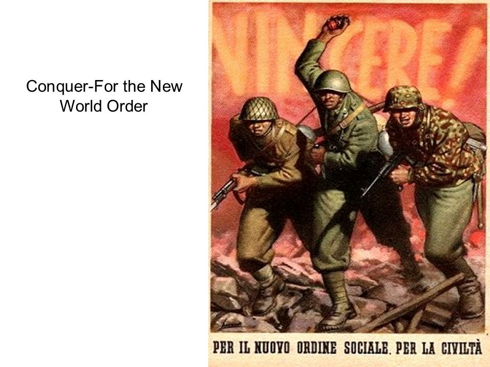 Conquer-For the New World Order
