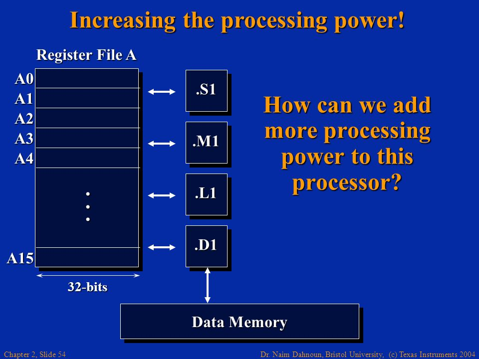 How can we add more processing power to this processor