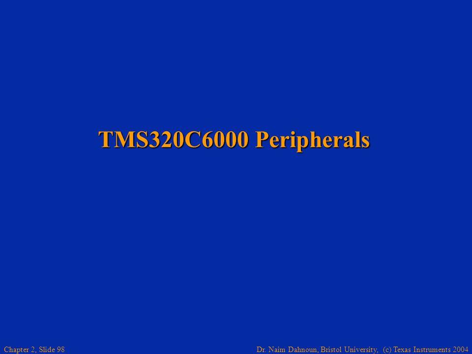TMS320C6000 Peripherals
