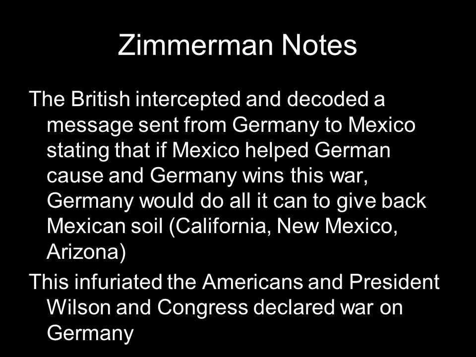 Zimmerman Notes