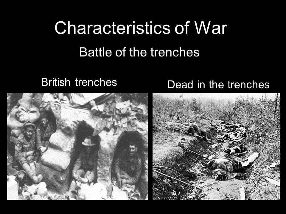 Characteristics of War