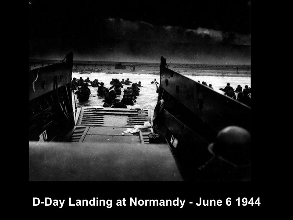 D-Day Landing at Normandy - June 6 1944