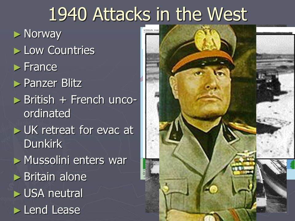 1940 Attacks in the West Norway Low Countries France Panzer Blitz