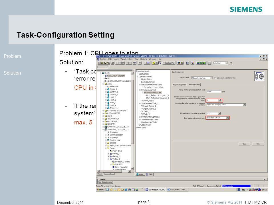 Task-Configuration Setting