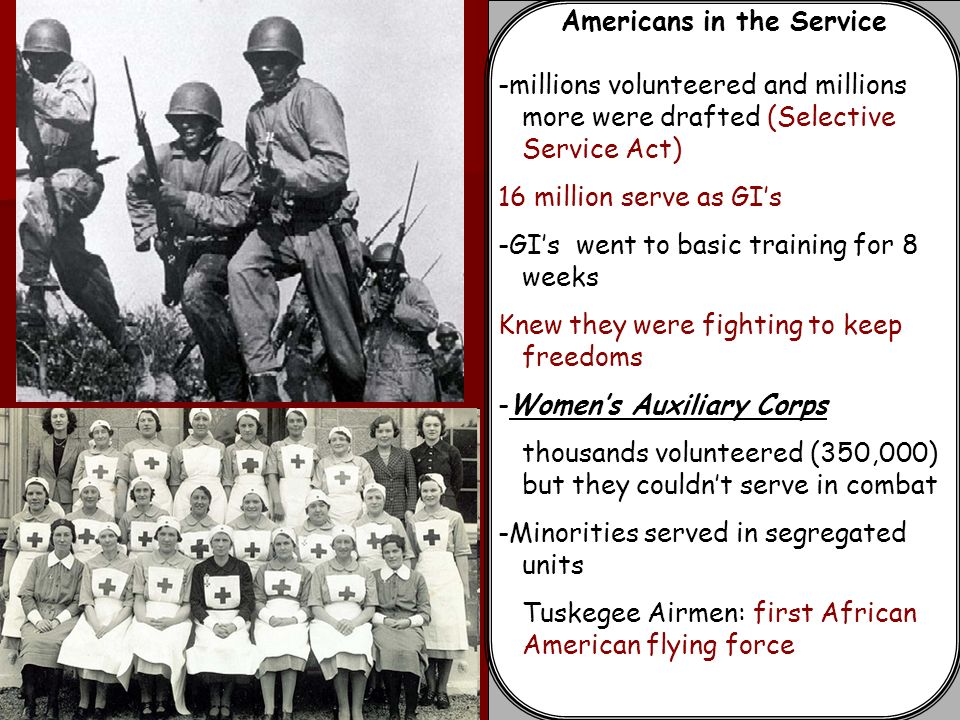 Americans in the Service