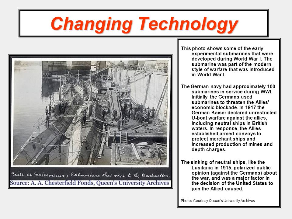 Changing Technology