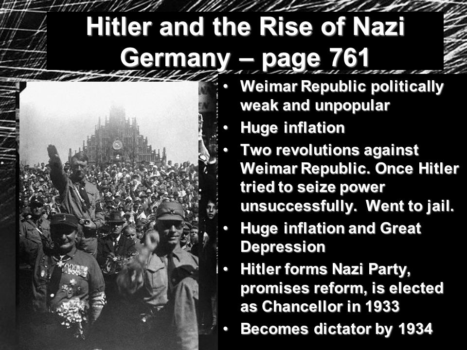 Hitler and the Rise of Nazi Germany – page 761