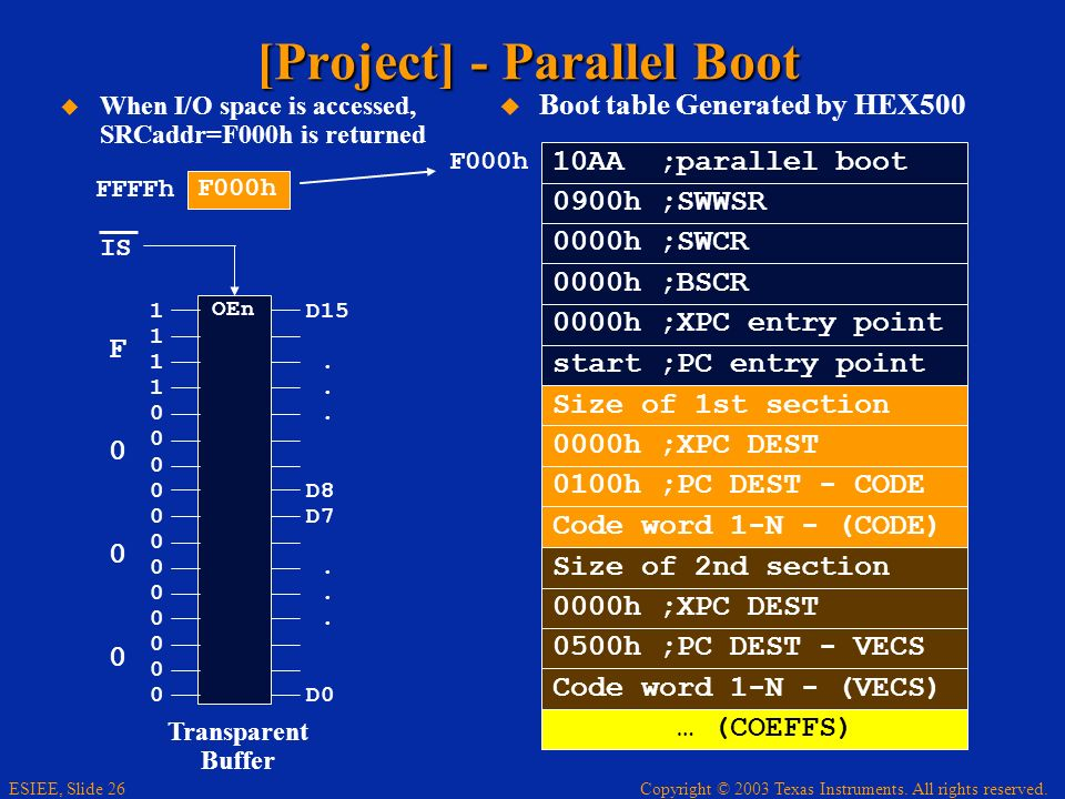 [Project] - Parallel Boot