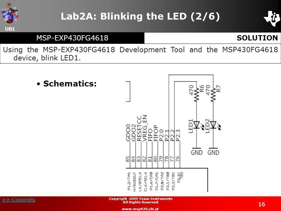 Lab2A: Blinking the LED (2/6)