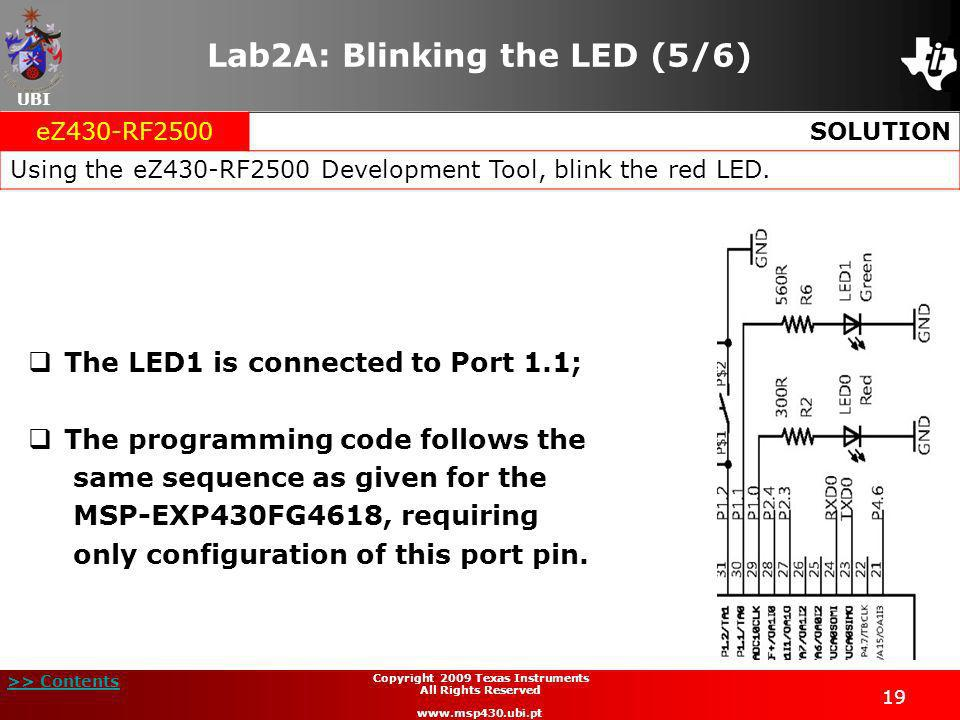 Lab2A: Blinking the LED (5/6)