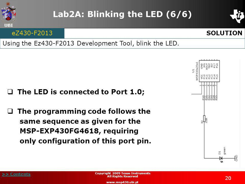 Lab2A: Blinking the LED (6/6)