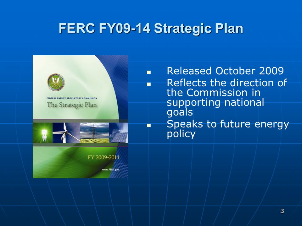 FERC FY09-14 Strategic Plan