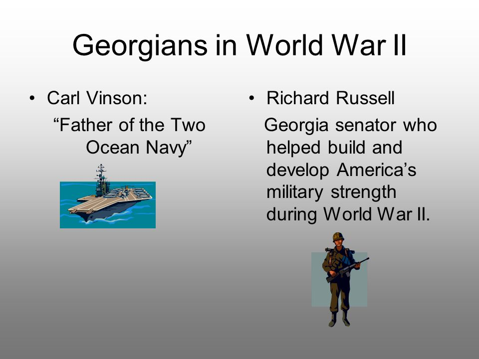 Georgians in World War II