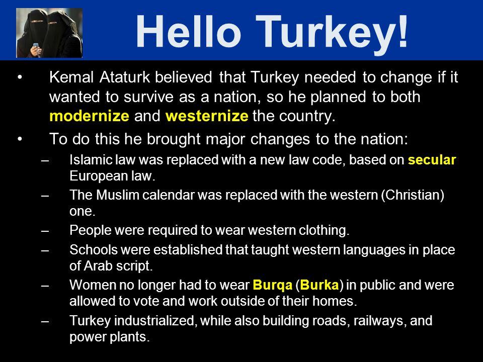 Hello Turkey!