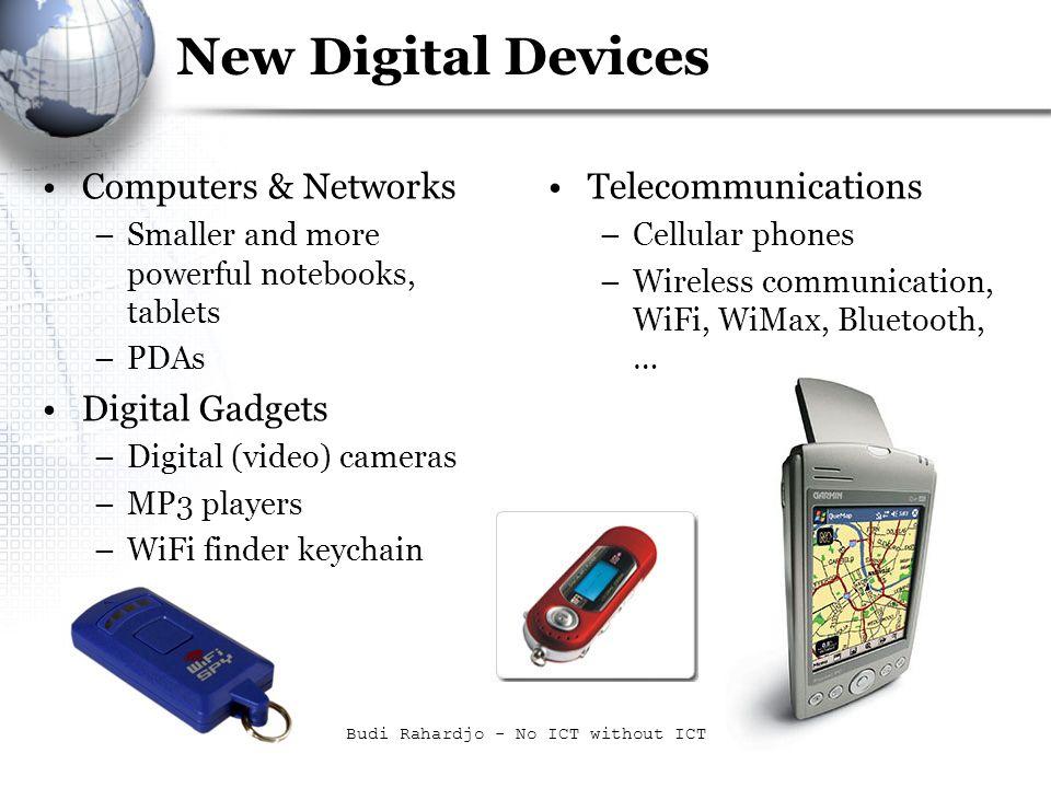 Budi Rahardjo - No ICT without ICT