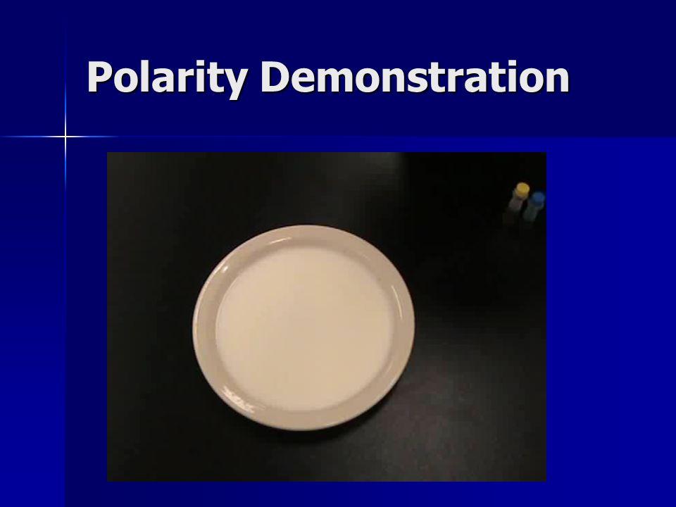 Polarity Demonstration