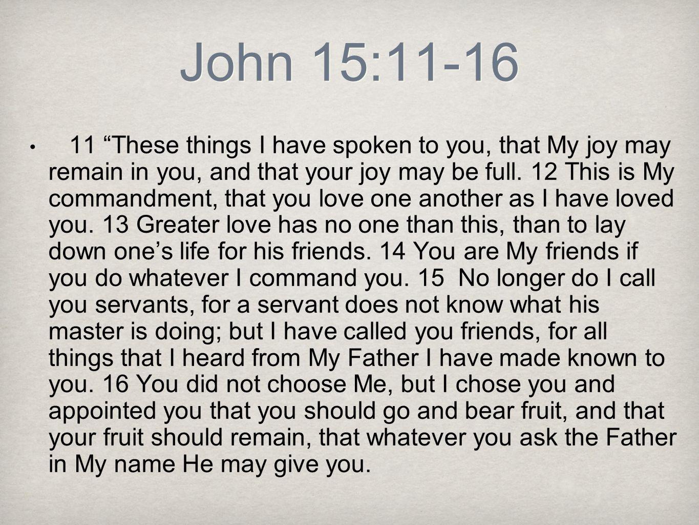John 15:11-16
