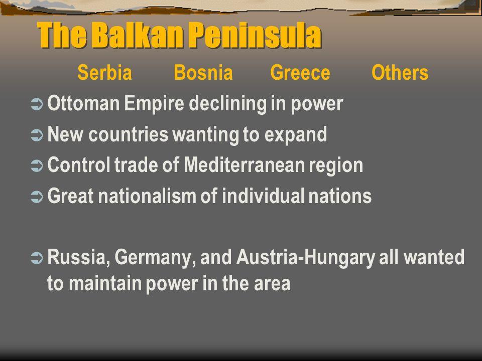 Serbia Bosnia Greece Others