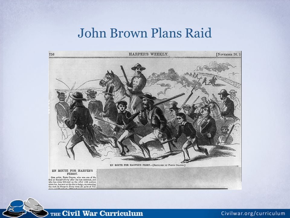John Brown Plans Raid