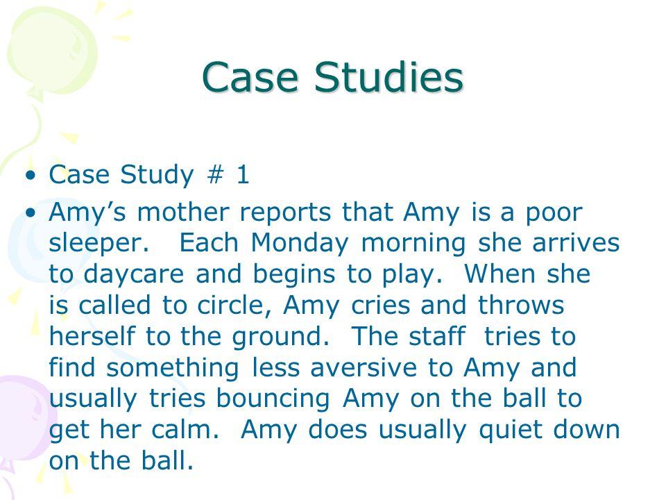 Case Studies Case Study # 1