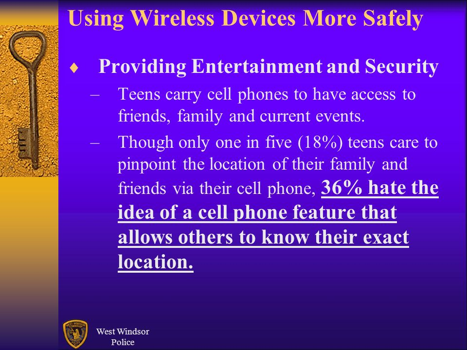 Using Wireless Devices More Safely