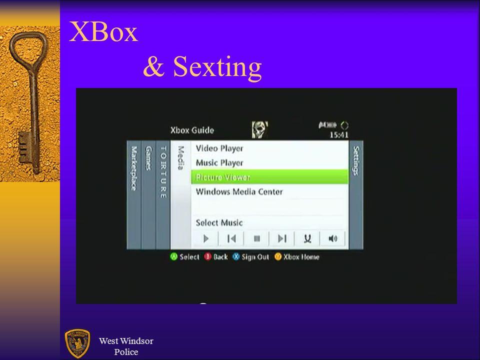 XBox & Sexting West Windsor Police