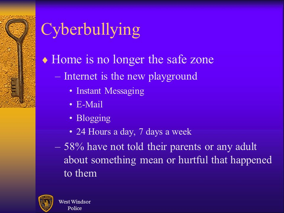 Cyberbullying Home is no longer the safe zone