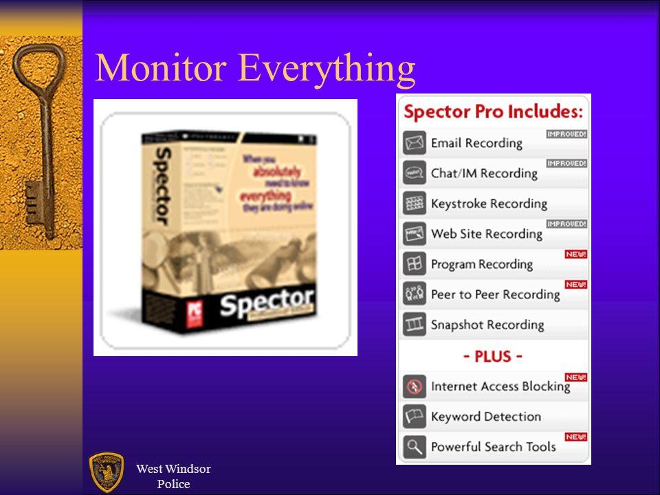 Monitor Everything West Windsor Police