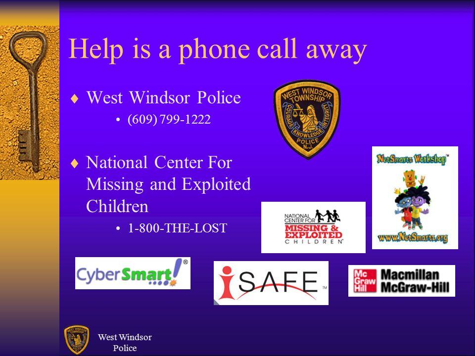 Help is a phone call away