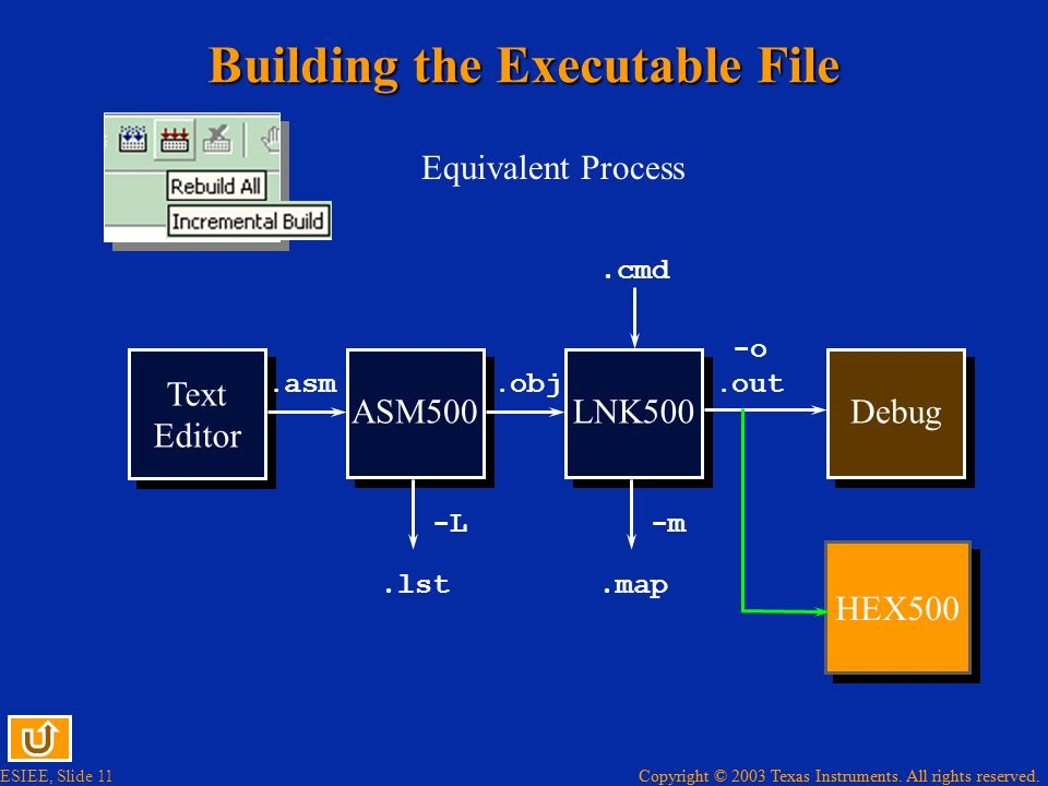 Building the Executable File
