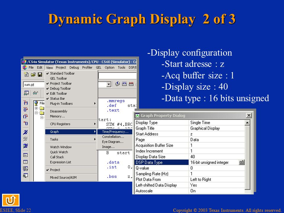 Dynamic Graph Display 2 of 3