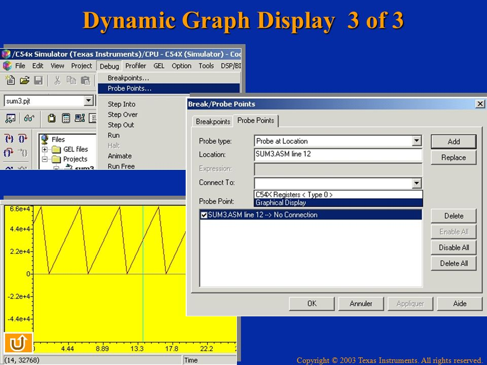 Dynamic Graph Display 3 of 3