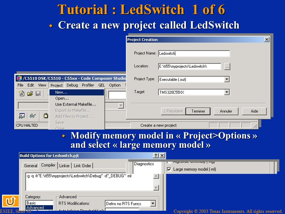 Tutorial : LedSwitch 1 of 6