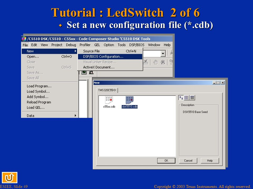 Tutorial : LedSwitch 2 of 6