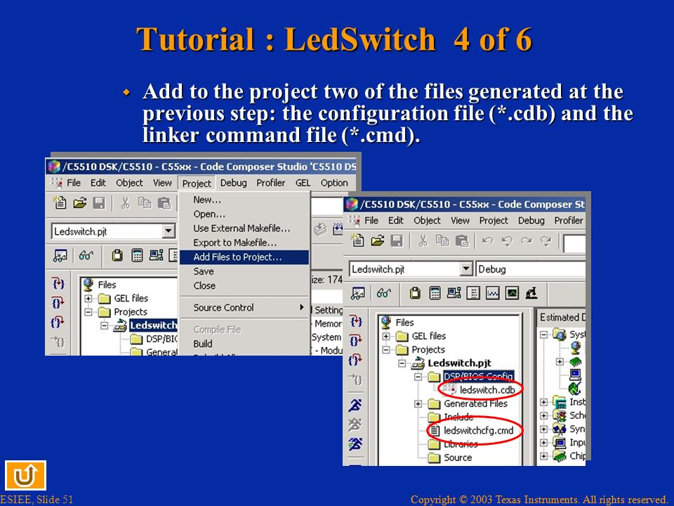 Tutorial : LedSwitch 4 of 6