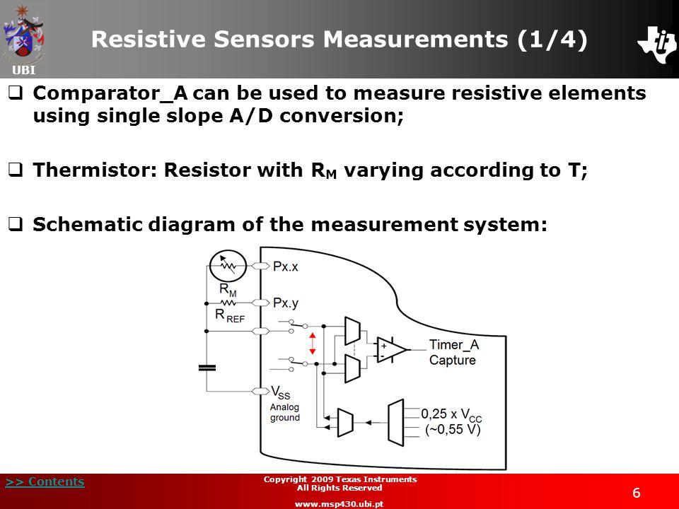 Resistive Sensors Measurements (1/4)