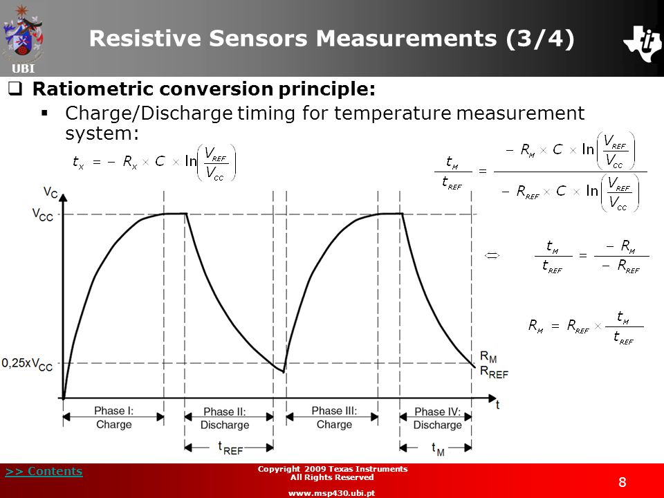 Resistive Sensors Measurements (3/4)